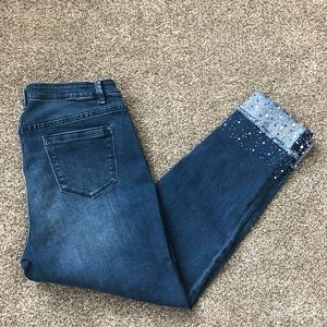 Soft Surroundings Jeans - Soft Surroundings ladies cropped cuffed jeans